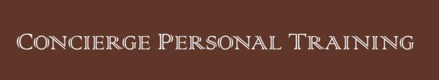 Concierge Personal Training